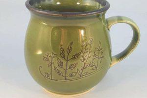 Kubek ceramiczny Zielarski kącik Kari