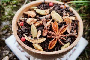 Zimowa herbata rozgrzewająca